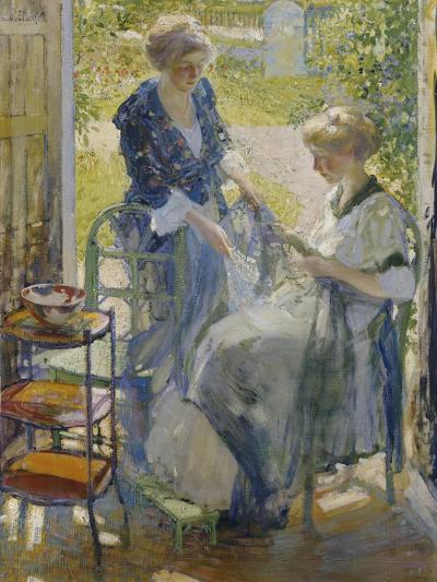 The Garden Room, Giverny-Richard E. Miller-Giclee Print