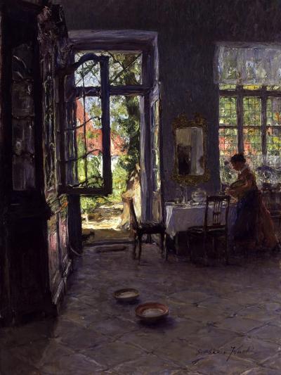 The Garden Room-Gotthardt Johann Kuehl-Giclee Print