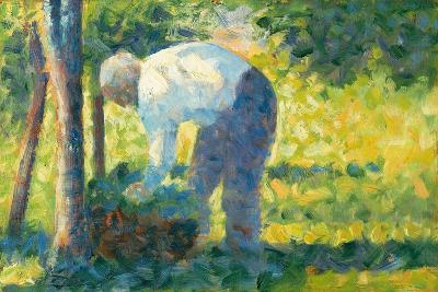The Gardener, 1882-83-Georges Pierre Seurat-Giclee Print