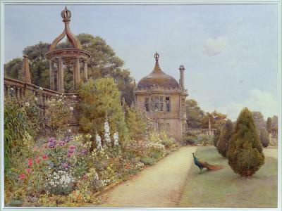 The Gardens at Montacute, Somerset, 1893-Ernest Arthur Rowe-Giclee Print