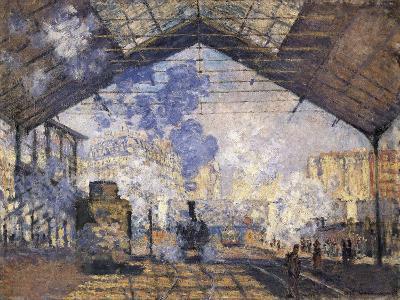 The Gare St-Claude Monet-Art Print