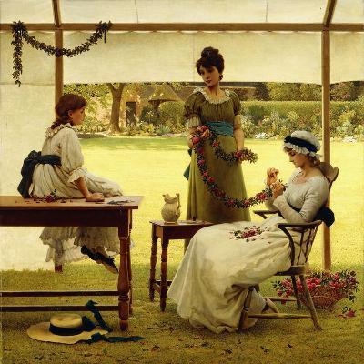 The Garland-George Dunlop Leslie-Giclee Print