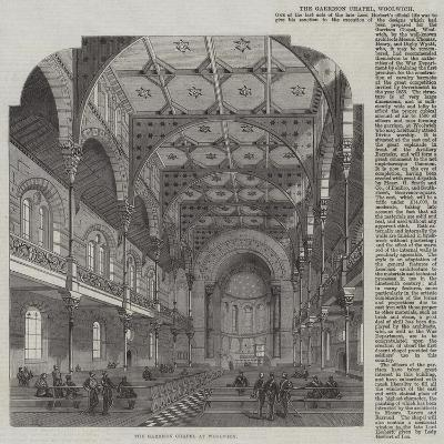 The Garrison Chapel at Woolwich--Giclee Print