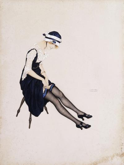 The Garter-Ernst Ludwig Kirchner-Giclee Print