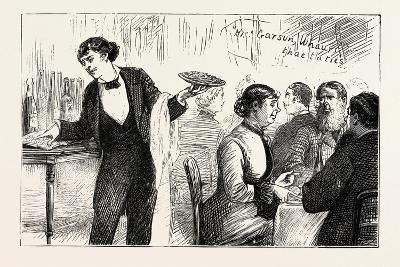 The Garyon and His Phrase Book, the Paris Exhibition, France--Giclee Print