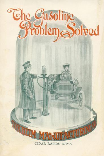 The Gasoline Problem Solved', Advertisement for Tokheim Manufactoring Company, C.1920--Giclee Print