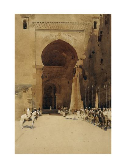 The Gate of Justice, 1890-Arthur Melville-Giclee Print