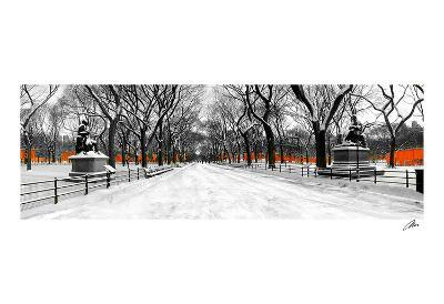 The Gates along Poet's Walk, Central Park-Igor Maloratsky-Art Print