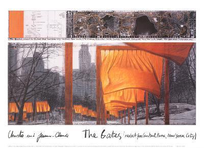 the gates ix art print by christo artcom
