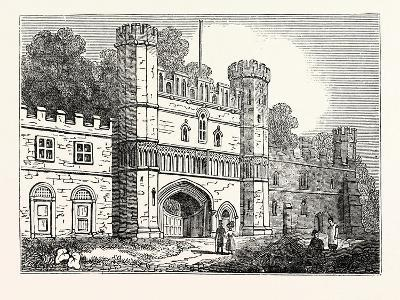 The Gateway at Battle Abbey Sussex--Giclee Print