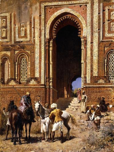 The Gateway of Alah-Ou-Din, Old Delhi, Late 19th Century-Edwin Lord Weeks-Giclee Print