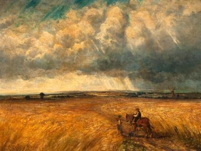 The Gathering Storm, 1819-John Constable-Giclee Print