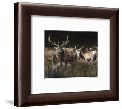 The Gathering-Kevin Daniel-Framed Art Print