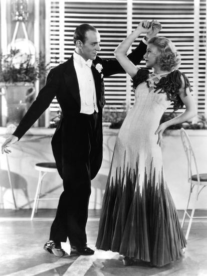 The Gay Divorcee Fred Astaire Ginger Rogers In The Continental Number 1934 Photo Art Com