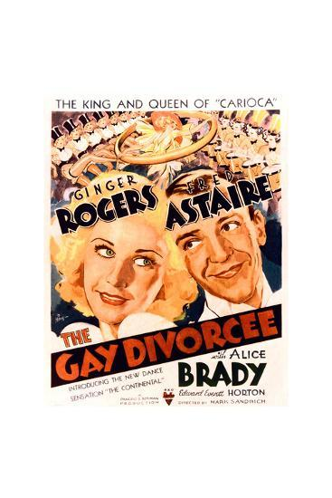 The Gay Divorcee--Art Print