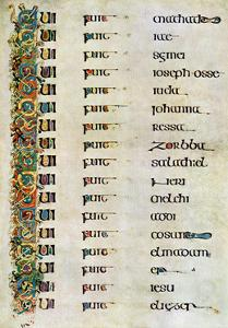The Genealogy of Christ, 800 Ad