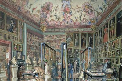 The Genealogy Room of the Ambraser Gallery in the Lower Belvedere, 1888-Carl Goebel-Giclee Print