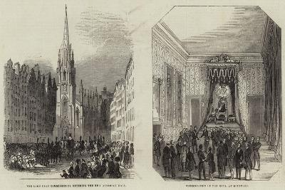 The General Assembly of Scotland--Giclee Print