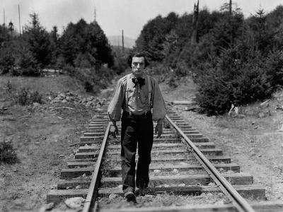 The General, Buster Keaton, 1926--Photo