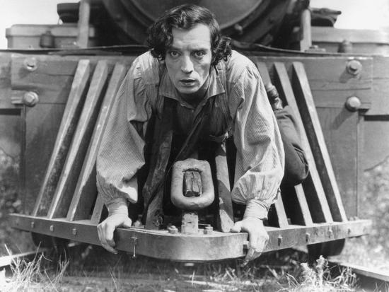 The General, Buster Keaton, 1927, Train--Photo