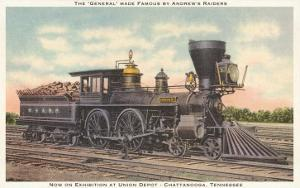 The General, Locomotive, Chattanooga, Tennessee