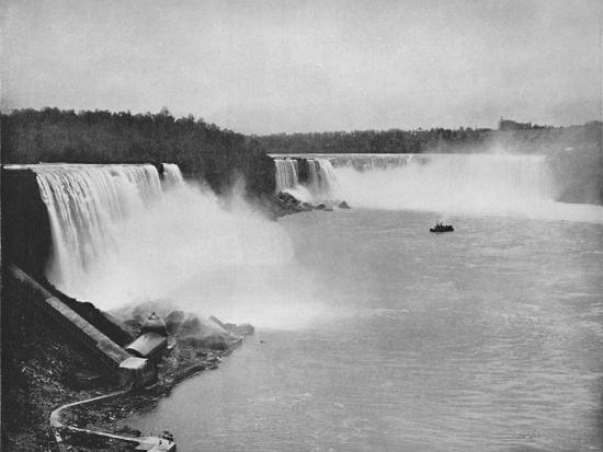'The General Outline of Niagara', 19th century-Unknown-Photographic Print