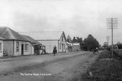 The General Store and Coronation Hall in the Centre of Waipu--Photographic Print