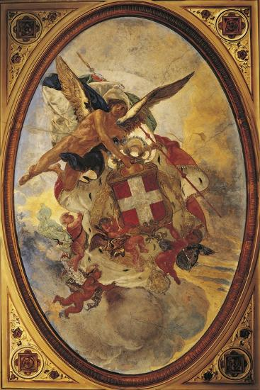 The Genius of Savoy, 1883-1884-Mose Bianchi-Giclee Print