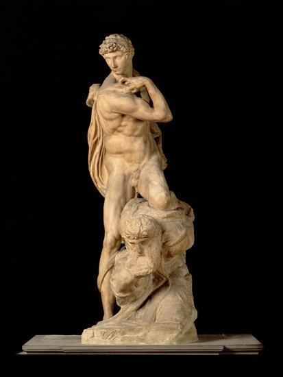 The Genius of Victory, 1532-34-Michelangelo Buonarroti-Giclee Print