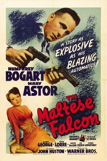 """The Gent From Frisco, 1941, """"The Maltese Falcon"""" Directed by John Huston--Giclee Print"""
