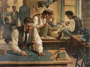 The Gentleman's Tailor, School Poster