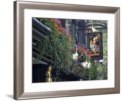 The George Pub, Strand, London, England, United Kingdom-Charles Bowman-Framed Photographic Print