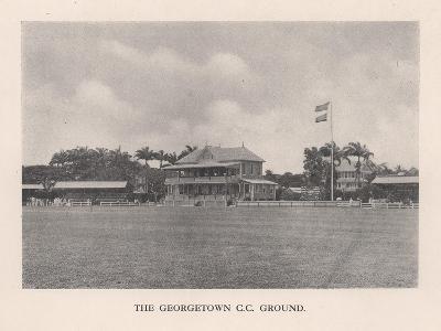 The Georgetown Cricket Club Ground, British Guiana, 1910 (1912)--Giclee Print