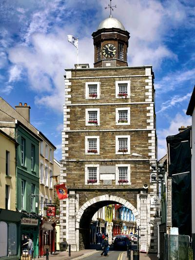 The Georgian Clock Tower in Youghal, County Cork-Chris Hill-Photographic Print