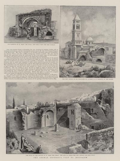 The German Emperor's Visit to Jerusalem--Giclee Print