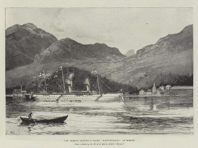 The German Emperor's Yacht Hohenzollern at Bergen-Joseph Holland Tringham-Giclee Print