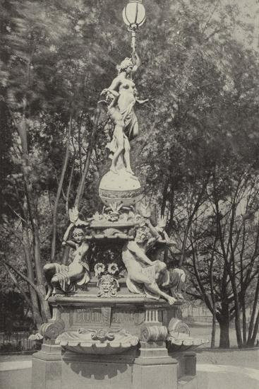 The German Fountain--Photographic Print