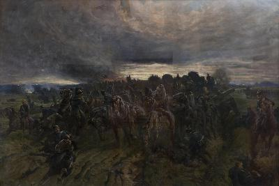 The German Retreat from the Marne, 1915-John Charlton-Giclee Print