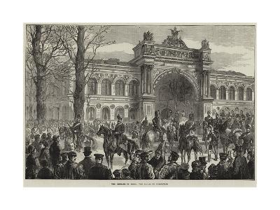 The Germans in Paris, the Palais De L'Industrie--Giclee Print