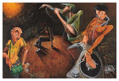 The Get Down-David Garibaldi-Art Print