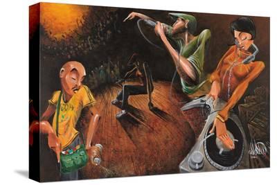 The Get Down-David Garibaldi-Stretched Canvas Print