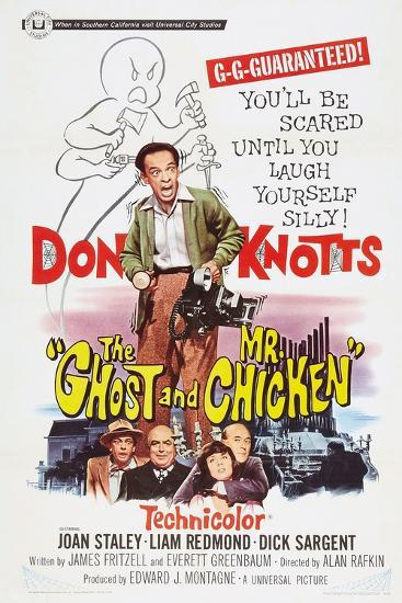 The Ghost and Mr. Chicken--Art Print