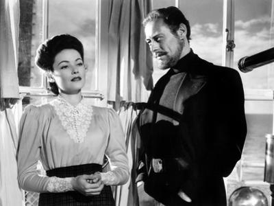 The Ghost and Mrs. Muir, Gene Tierney (Costume Designed by Oleg Cassini), Rex Harrison, 1947