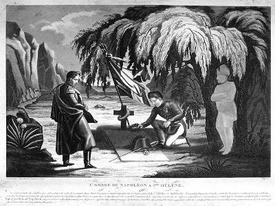 The Ghost of Napoleon on St Helena, C1825--Giclee Print
