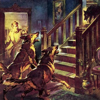 The Ghost of the Black Dog-McConnell-Giclee Print