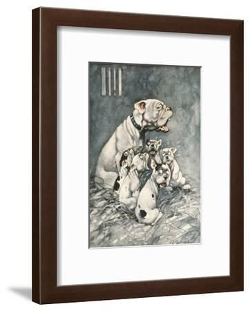 The Ghost Story-George Studdy-Framed Premium Giclee Print
