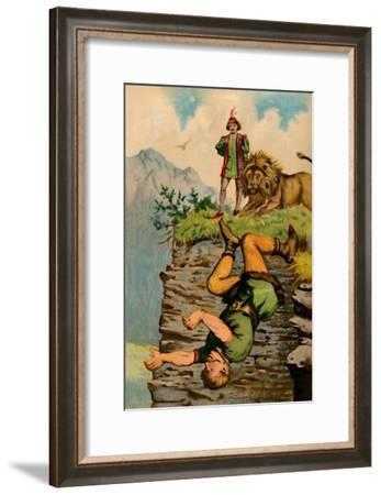 'The Giant's Downfall', 1901-Edward Henry Wehnert-Framed Giclee Print