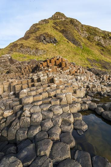 The Giants Causeway, County Antrim, Ulster, Northern Ireland, United Kingdom-Michael Runkel-Photographic Print
