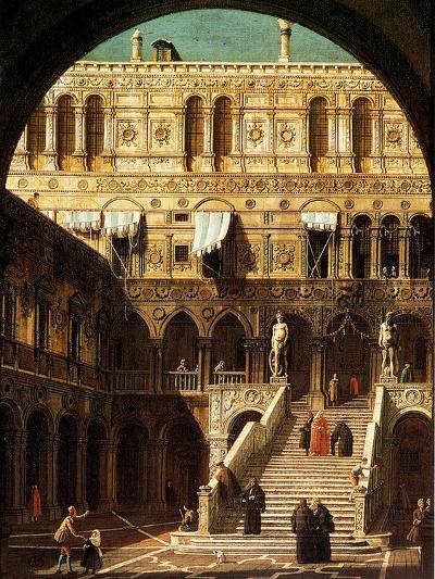 The Giants' Steps, Venice, 1765-Canaletto-Giclee Print