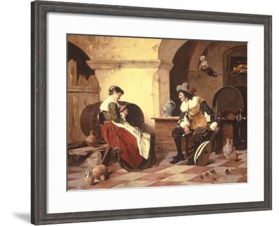 The Gift-Ernst Meisel-Framed Giclee Print